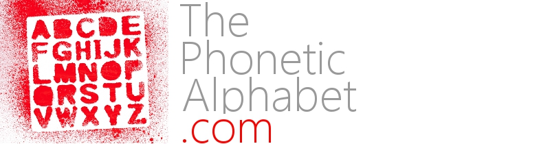 Lapd Phonetic Alphabet